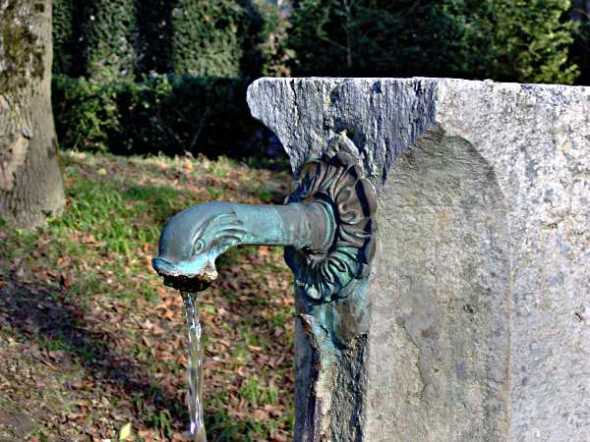 Detail fontaine