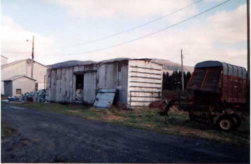 wagon reconverti en cabane ua Canada