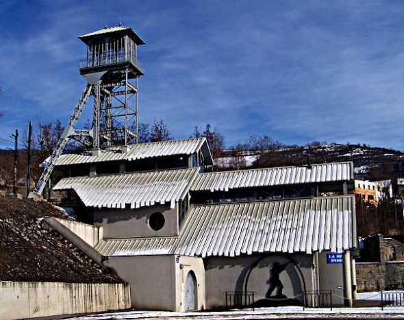 Vue du site de la Mine Image