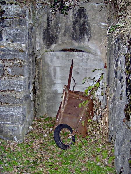 Vue galerie annexe niveau 8 la Motte d'Aveillans